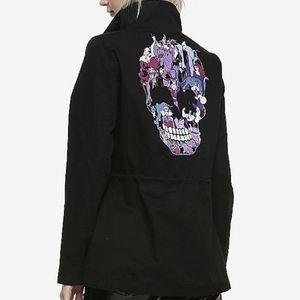 Disney Villains Black Cargo Jacket